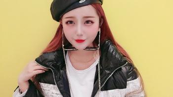 网红发色 秋冬妆容