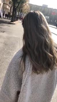 今日发型 发色