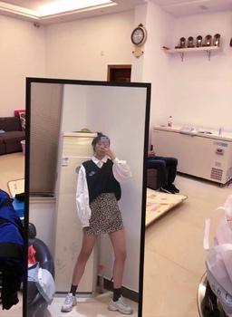 豹纹包臀裙