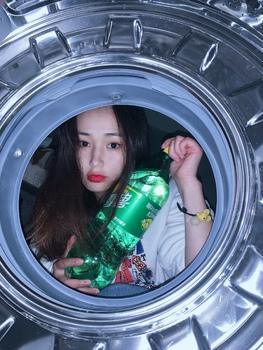 解锁洗衣机拍照