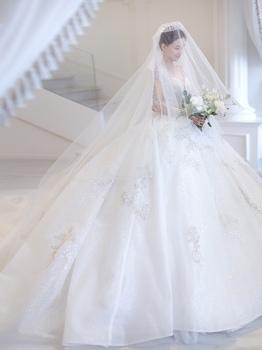 穿着婚纱,嫁给爱情 试纱经验分享 婚礼
